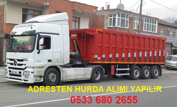 İstanbul'da Adresten Hurda Alan Hurdacılar