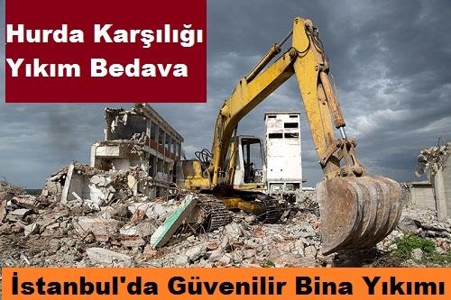 Bina Yıkımı Yapanlar İstanbul